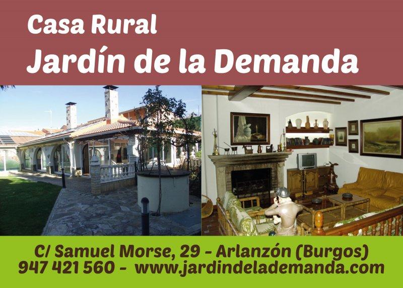 Casa rural jard n de la demanda qu hacer cotur - Casa rural el jardin ...